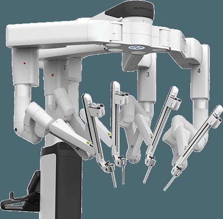 Dr Brian Harkins DaVinci Robot