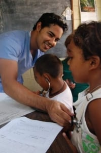 Dr Arevalo at Rural El Salvador.